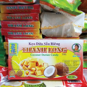 Kẹo dừa sữa sầu riêng lớn